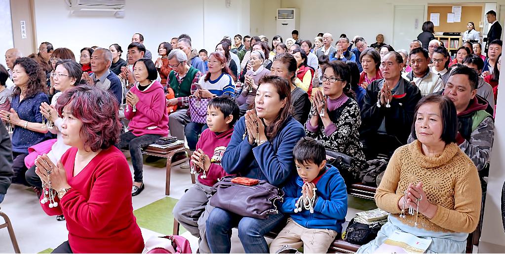 花東布教所未受二月六日花蓮地震的影響,如期奉修二月份御講。