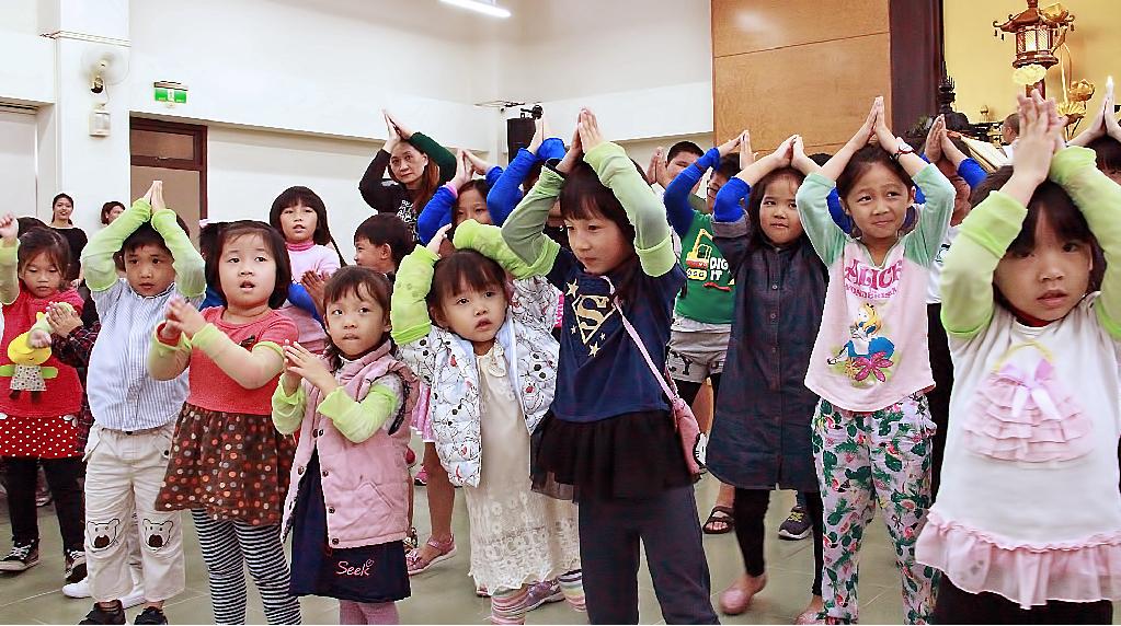 妙德寺舉行兒童會