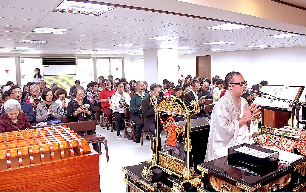 妙照院於十一月份御講時一併奉修目師會