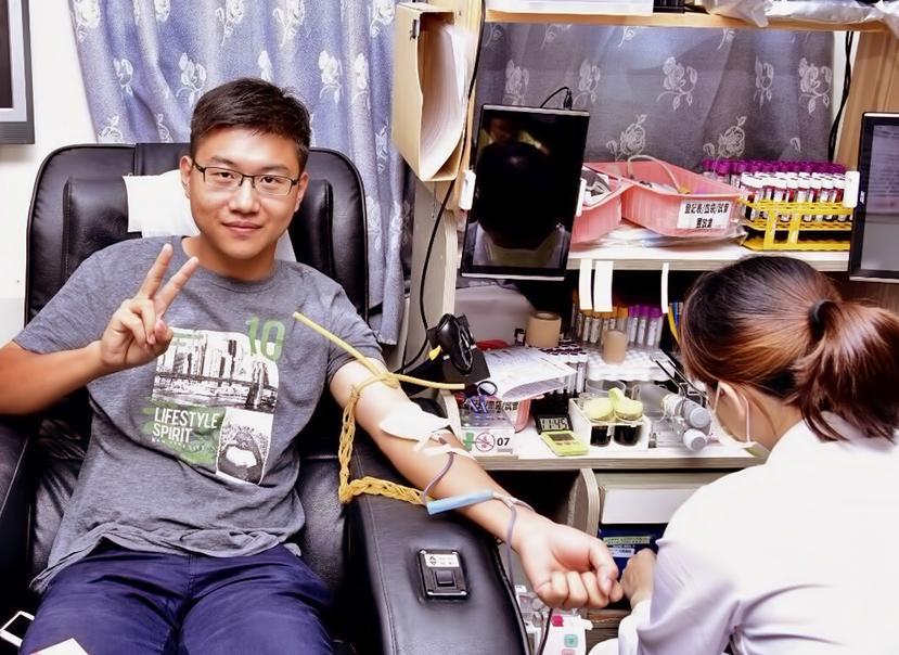響應捐血,救人利己