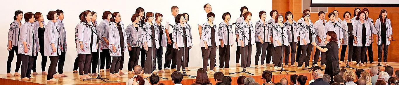 台灣法華講代表高歌