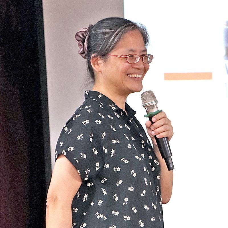 台灣失智症協會秘書長湯麗玉女士主講「認識失智症及其預防」