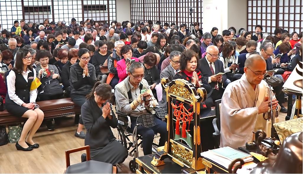 本興院奉修年終御講,信徒有始有終地踴躍參詣