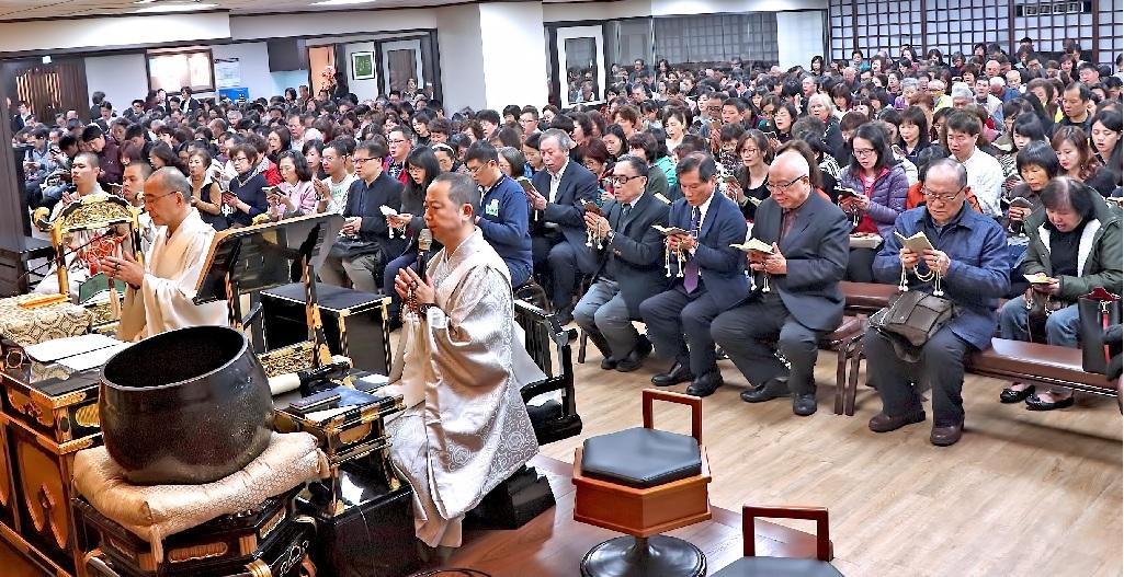 本興院奉修宗祖御誕生會,眾多信徒參詣