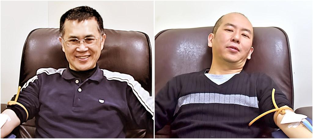 本宗僧俗熱情響應捐血活動