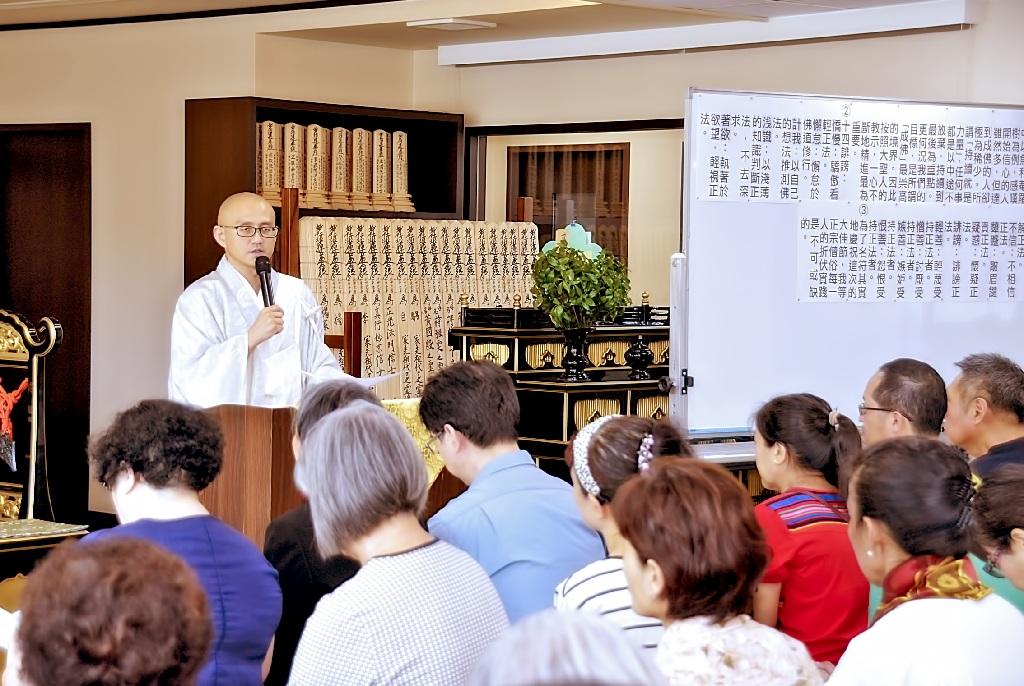 堀田主管勉勵大家,努力實踐折伏的使命,構築幸福的境涯