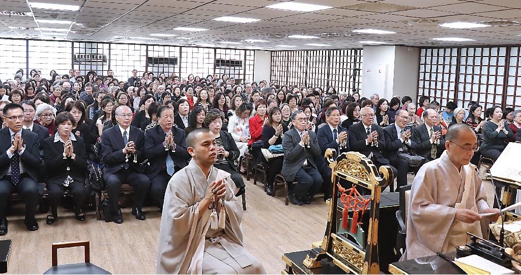 以北四本部信徒參加為主的一○八年本興院創立紀念法會