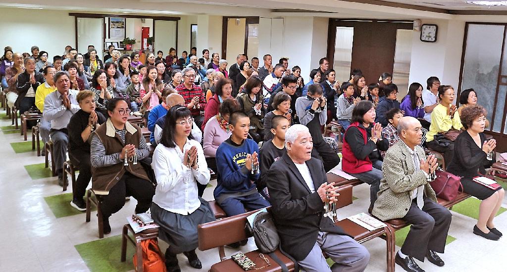 花東布教所今年的首次御講,信徒參詣踴躍