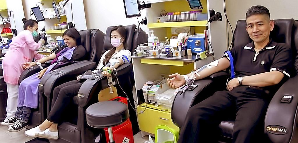 愛心捐血人