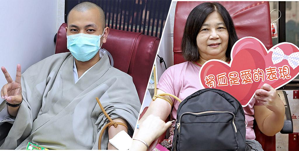 本興院在疫情趨緩下,舉行今年度第一次的捐血活動