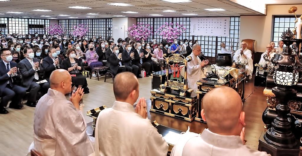 感謝御本尊的加護,台灣各法城得以不受新冠肺炎疫情的影響,舉行年度最重要的御會式