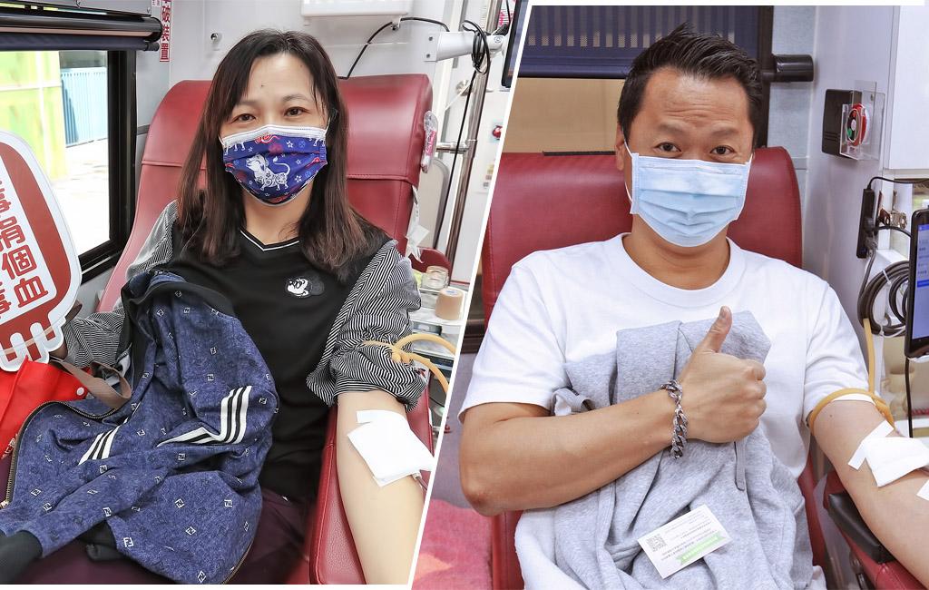 挽袖捐熱血。